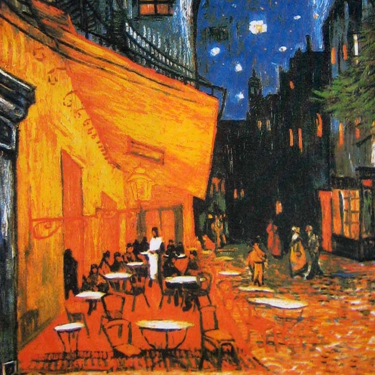 Jazzy 39 s interior decorating vincent van gogh for Terrace night