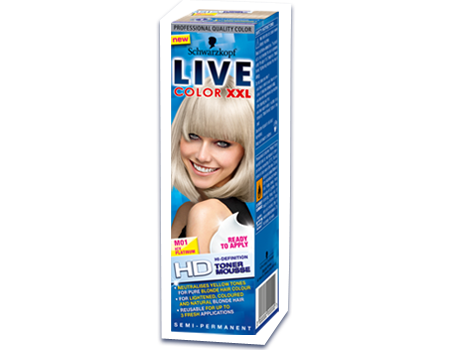 Beauty And The Blogger Live Color XXL Blonde Toner M01