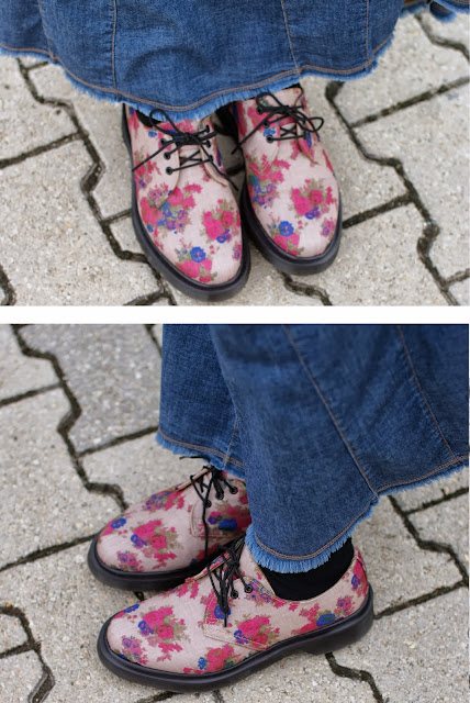 floral print Dr Martens, Dr Martens a fiori, Fashion and Cookies, fashion blogger