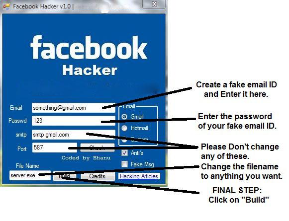 How to hack Facebook Account - Brain Hackers
