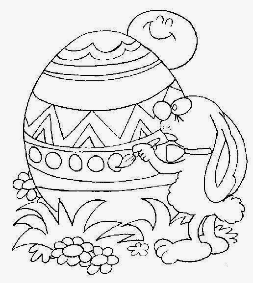 Easter's Drawings for Coloring, part 5