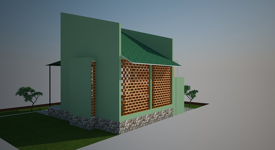 jasa desain bangunan desain mushola