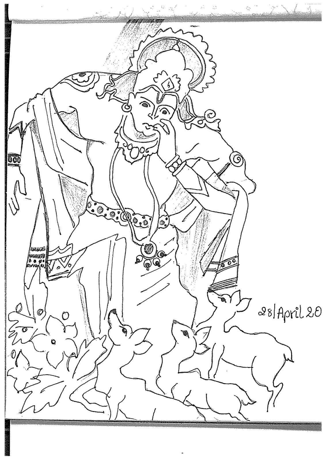mythology coloring pages