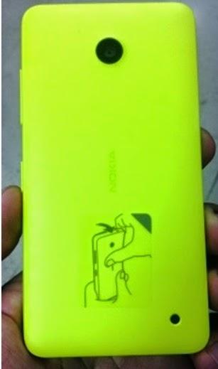 Nokia Lumia 630 back cover