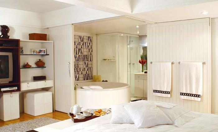 Quarto Pequeno Com Banheiro Dentro ~ voc? o que acha de eliminar paredes entre quarto e banheiro?