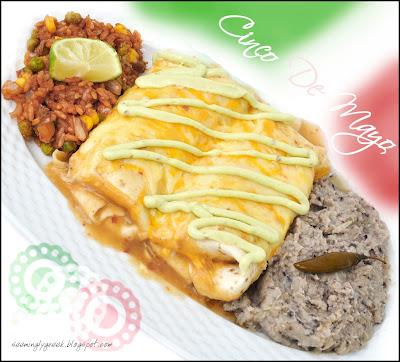 cinco de mayo Beef Enchiladas...