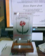 Placa de Cristal al Vencedor de Trovadores.