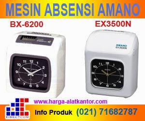 Mesin Absen Amano Type EX3500N, BX-6200