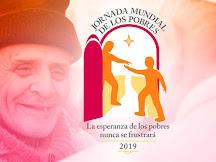 17 de NOVIEMBRE: III JORNADA DE LOS POBRES