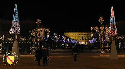 NANCY (54) - La ville by night !