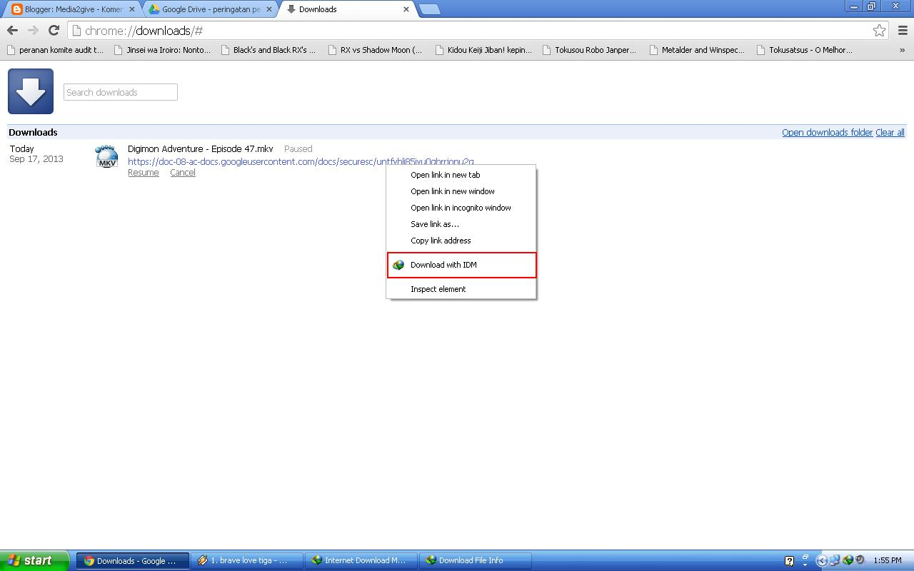 how to give permision on google drive