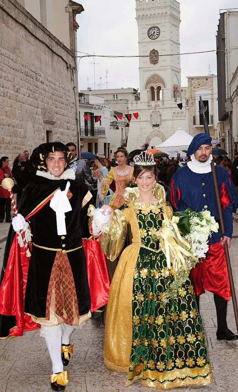 Sant'Amatore, Itália, casal nobre