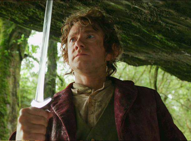 Bilbo with Sting