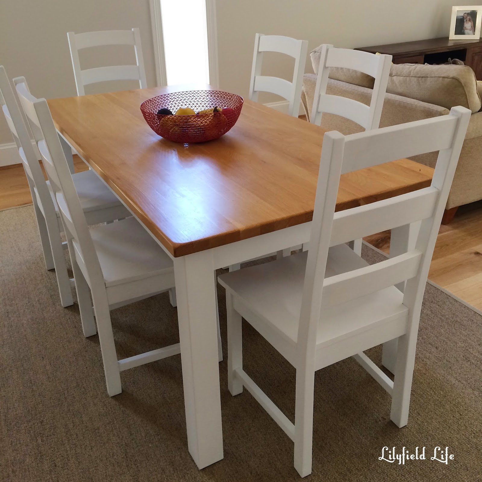 New Two Toned Dining table
