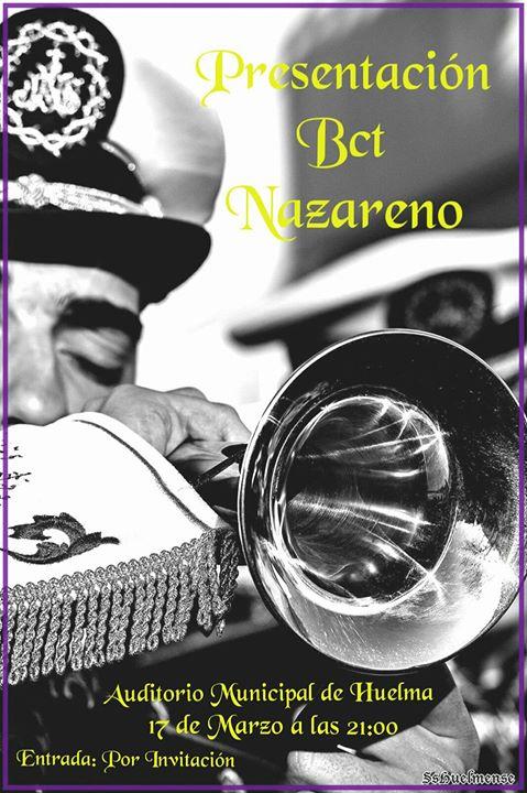 """PRESENTACION BANDA CC Y TT """"NAZARENO"""""""