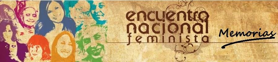 ENCUENTRO NACIONAL FEMINISTA. MÉXICO.