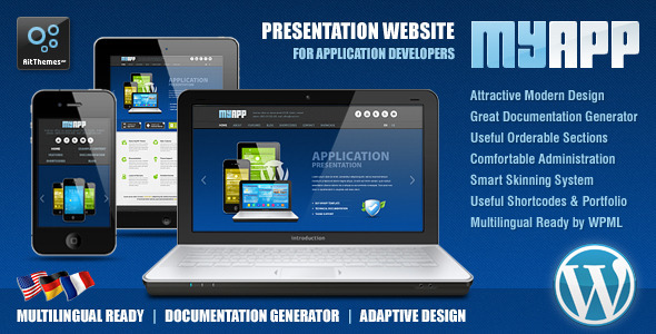 Top WordPress themes for App Developers