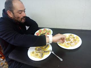 Pinchos con pasta fresca rellena buitoni