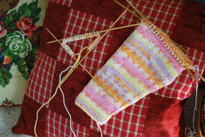 knitting sleeves in the round