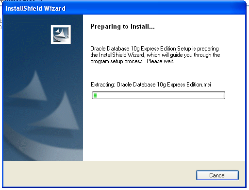 Installing Oracle Database 10g Express Edition_002