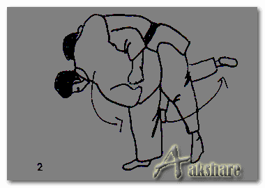 Teknik Dasar Bantingan Uchi-Mata - Beladiri Judo