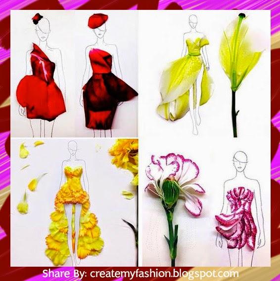 ไอเดียการออกแบบโดยใช้ดอกไม้จากธรรมชาติ