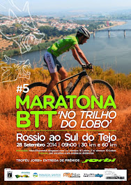 "V MARATONA BTT  "" NO TRILHO DO LOBO"""