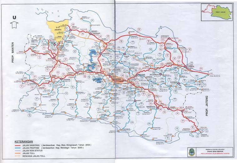 Jaringan Jalan Jawa Barat