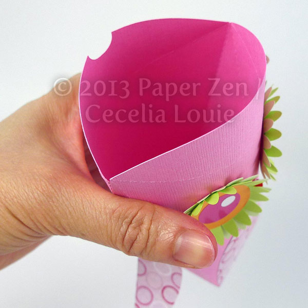 Cecelia Louie Paper Zen 3d Owl Party Favor Treat Box