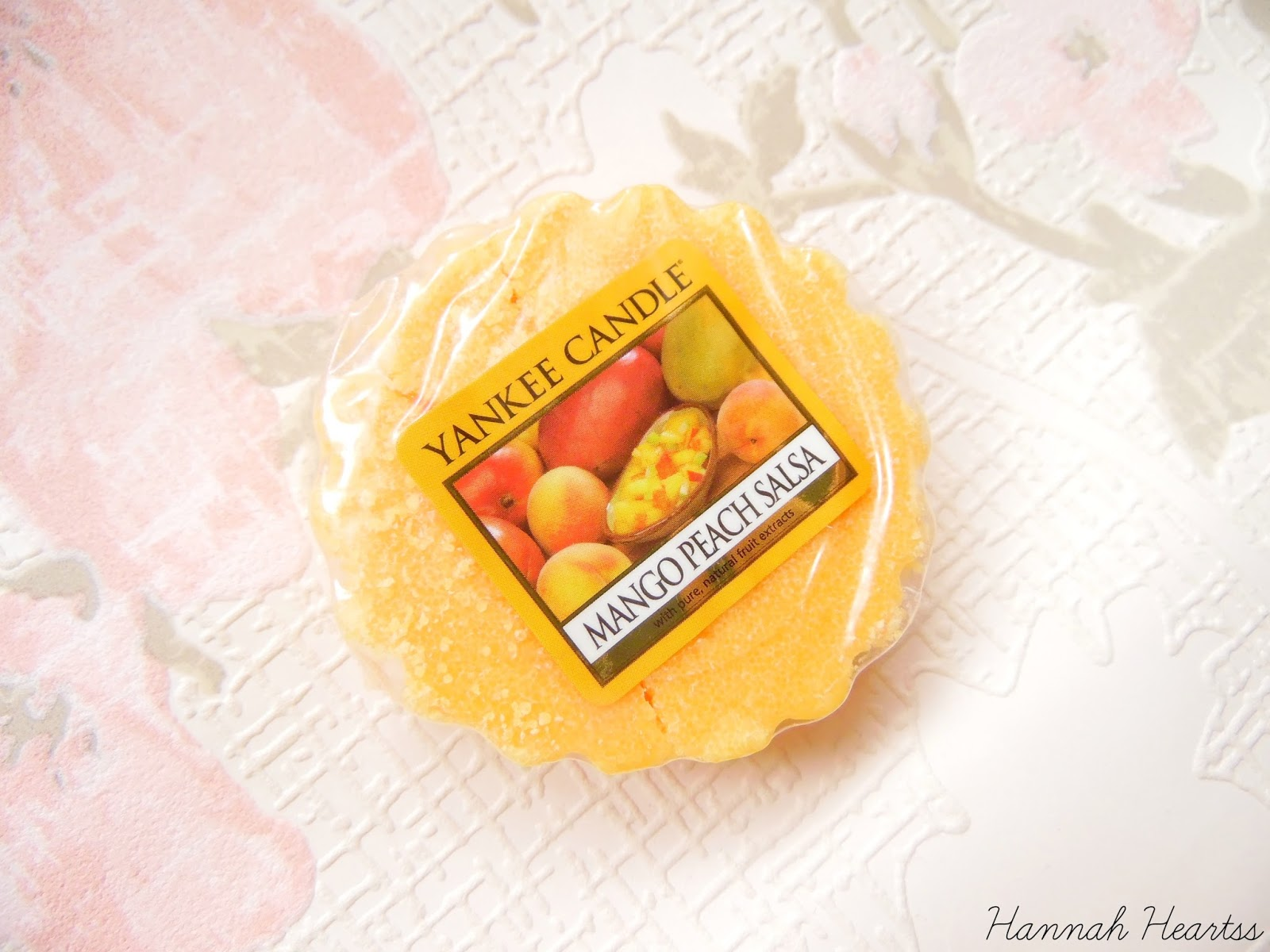 Yankee Candle Mango Peach Salsa Tart