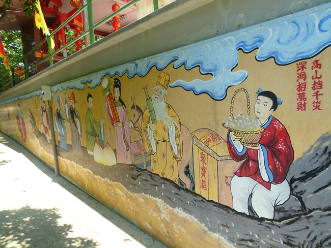 Hermoso mural chino