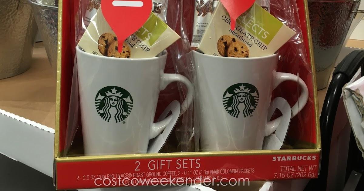 Starbucks Coffee Mug Gift Set Costco Weekender
