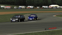 Mod rFactor Clio Williams vrs clio 1.6 3