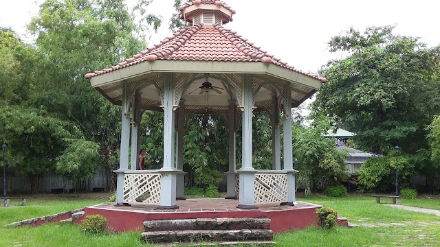 Gazebo inside Fort Santiago