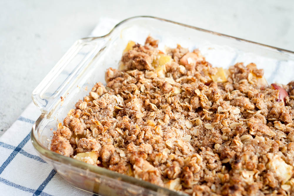 Buttered Up: Chai-Spiced Apple Crumble