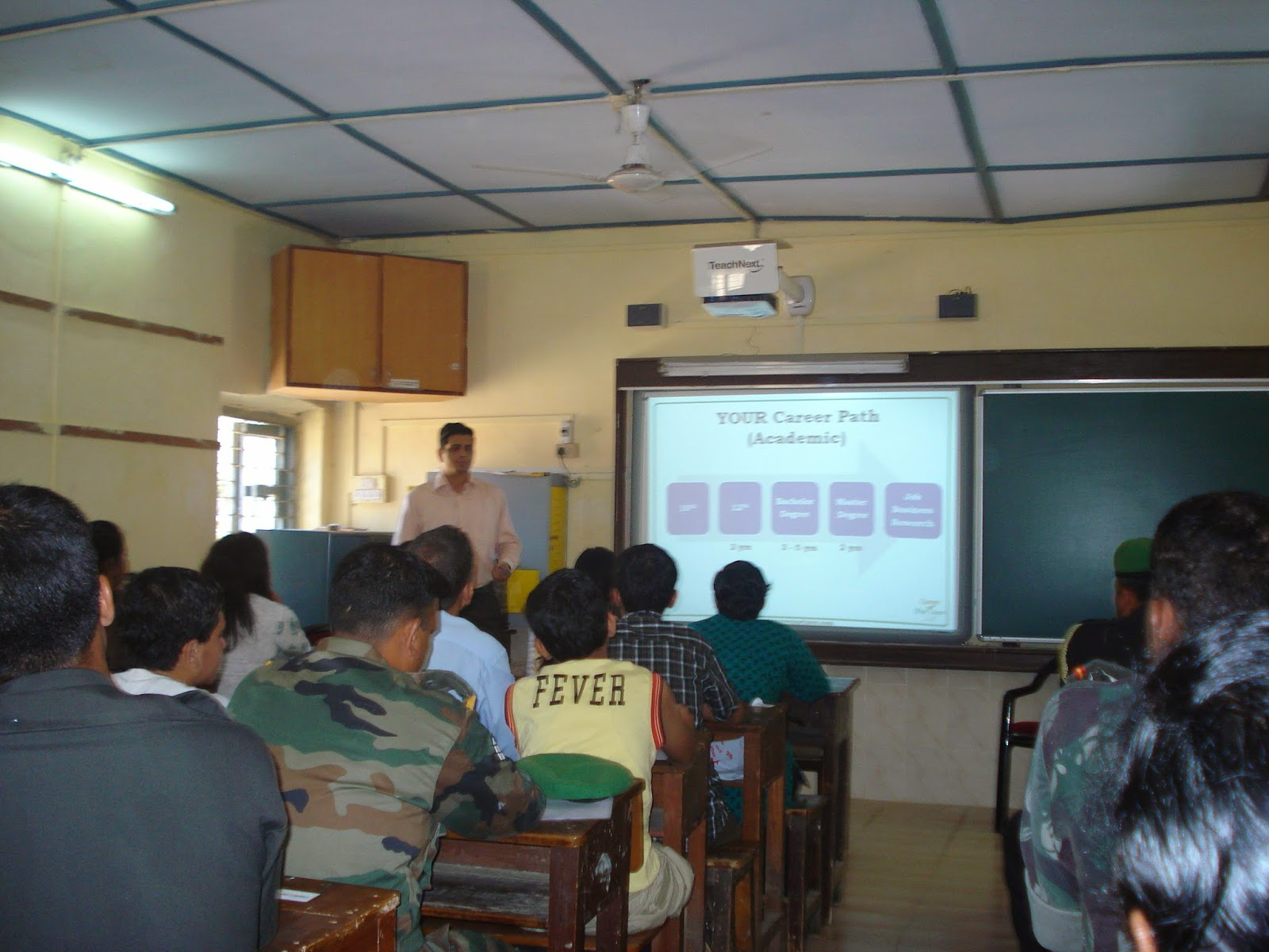 Career Guidance Session at Army Public School Mumbai