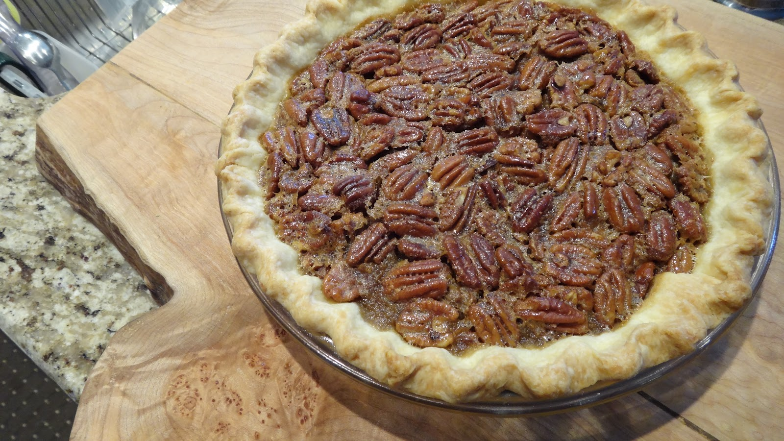 want to cook that: Maple Bacon Bourbon Pecan Pie