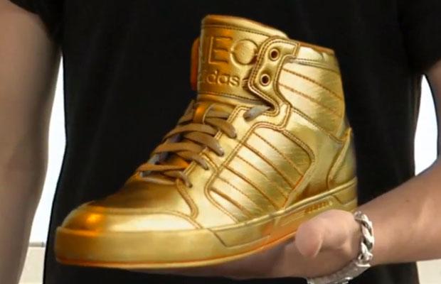 Adidas Dorados De Justin Bieber