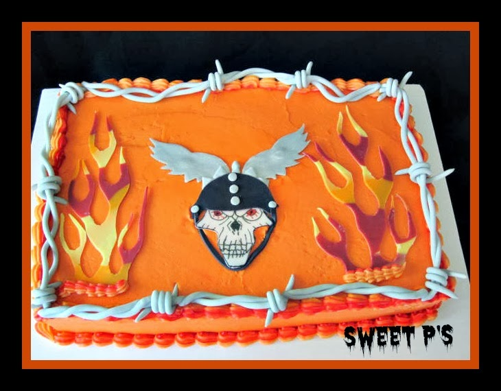 Halloween Sheet Cake Decorating Ideas : Easy Halloween Cake Ideas Sweet P s Cake Decorating ...