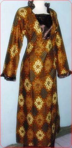 foto baju batik muslim