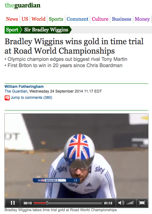 http://www.theguardian.com/sport/2014/sep/24/bradley-wiggins-wins-gold-mens-time-trial-road-world-championships