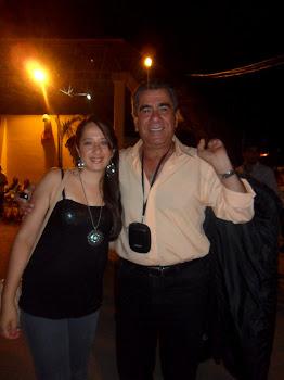 Con Miguel Ricardo Scófano del Grupo Integración