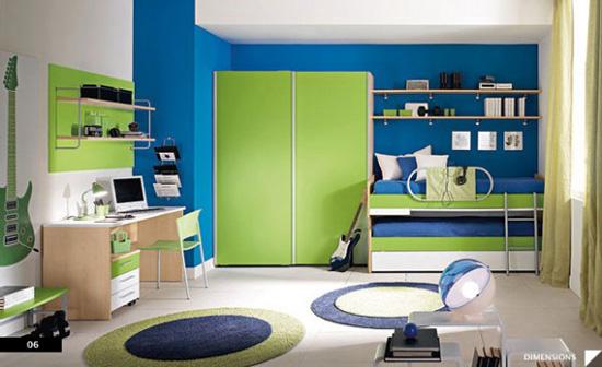 Desain Interior Kamar untuk Hobi Musik - Sophisticated Boys Room