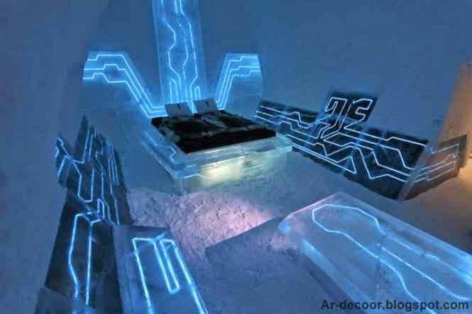 غرف نوم تحت الماء + 10 أفكار جنونية لغرف نوم فى اماكن مختلفة وغير