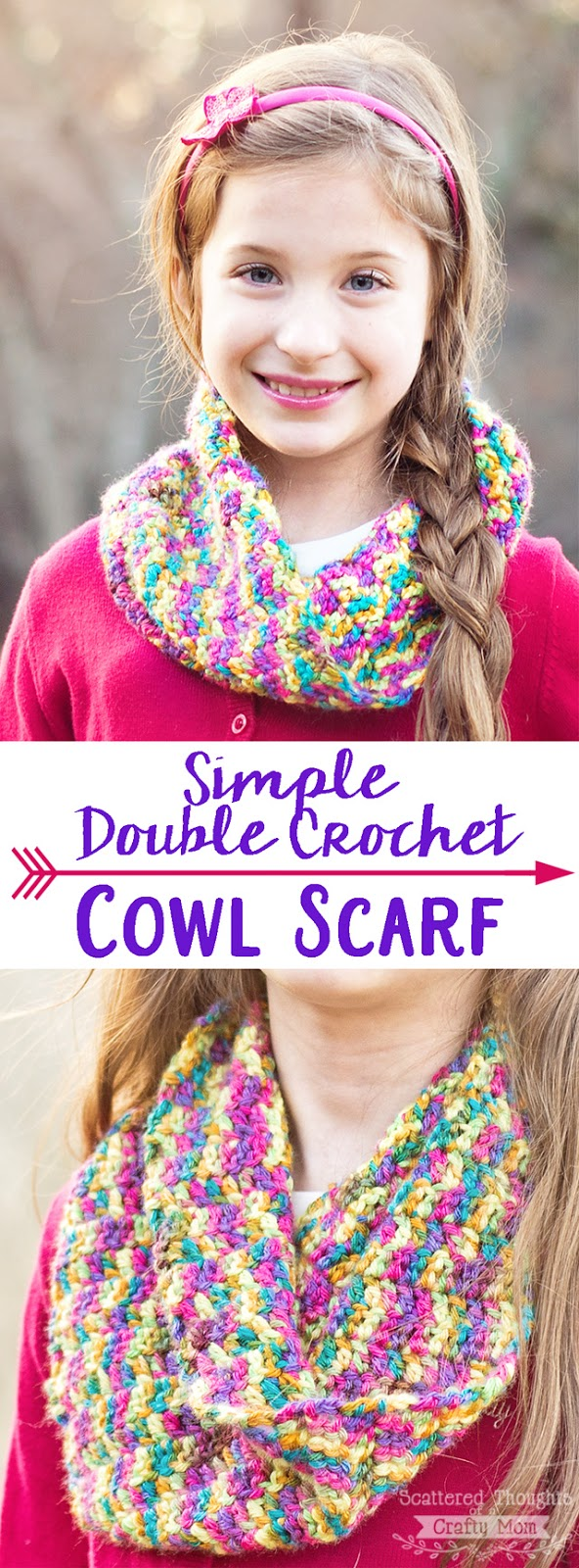 Big Bow Crochet Headband Scattered Thoughts Of A Crafty Mom By