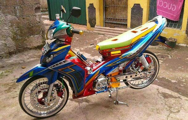Foto Modifikasi Jupiter Z 2011