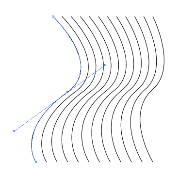 how to chance line end shape illustrator