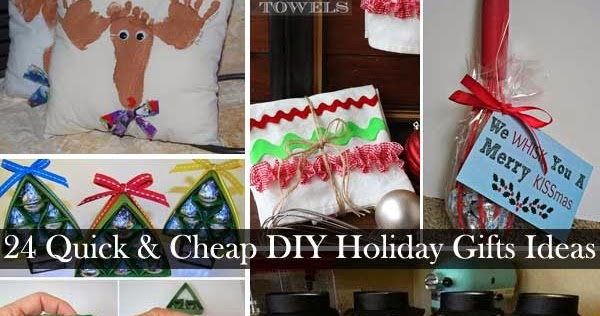 24 Quick and Cheap DIY Christmas Gifts Ideas - DIY Craft Projects