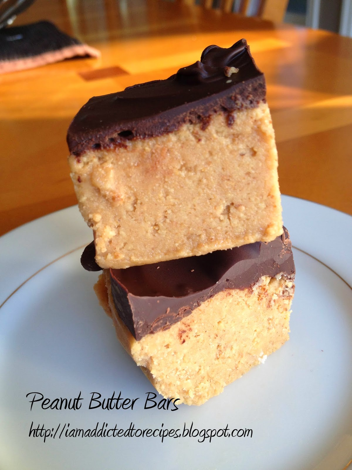 Peanut Butter Bars | Addicted to Recipes