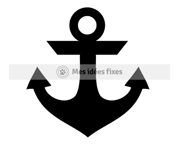 Mes id es fixes se lance un d fi un dessin par jour pendant un an jour 169 ancre - Dessin ancre bateau ...